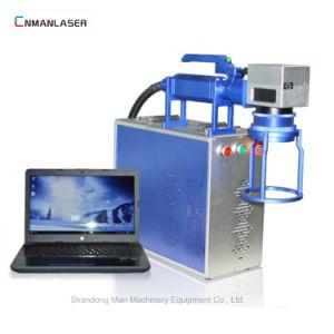 ステンレス鋼のための携帯用Raycusのレーザーソース20Wのマーキング機械