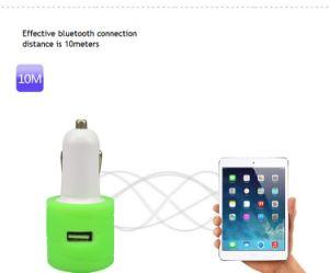 Transmisor FM Bluetooth con cargador de teléfono (SKY-C1)