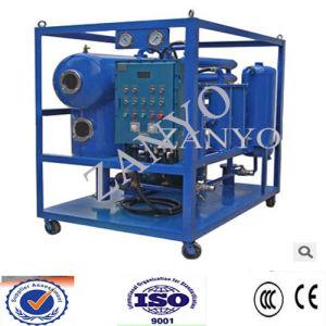 Máquina de la deshidratación del aceite del vacío de la Doble-Etapa