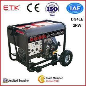 低い燃料消費料量のディーゼル発電機(DG4LE-B)