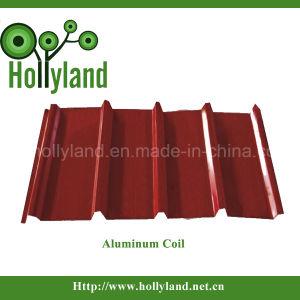 Пе&ПВДФ алюминиевый лист с полимерным покрытием (ALC1115)