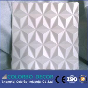 Décoration intérieure PVC Panneau mural 3D de papier peint pour Villa