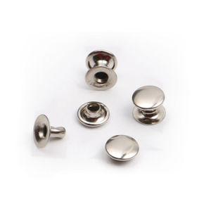 Minieisen-Metalldoppelt-Kopf-Knall-Schutzkappen-Niet