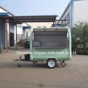 ほとんどは新しいデザインに熱い販売3の車輪のアイスクリームのクレープサンドイッチコーヒーハンバーガーメーカーの食糧トラックを作る