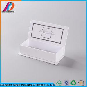 رفاهيّة مستحضر تجميل ورقيّة يعبر هبة بنية صندوق مع يطبع علامة تجاريّة