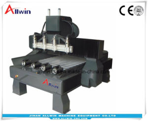 Eje giratorio Multi-Head 1590-4 Gantry mover la máquina Router CNC