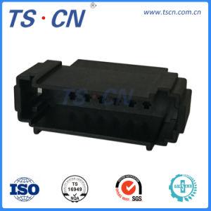 15 broches du connecteur mâle PBT en plastique de l'automobile pour le faisceau de câblage