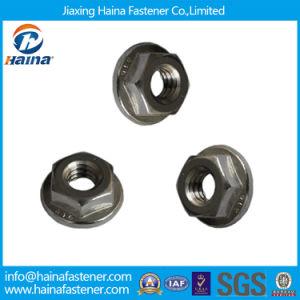 Les écrous hexagonaux à embase en acier inoxydable