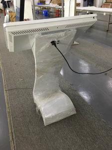 De Kiosk van de Informatie van de Tablet van het Scherm van de Aanraking van de Interactie van de Tribune van de Vloer van Yashi 49inch