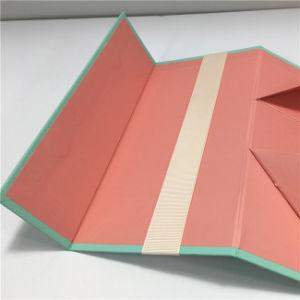 OEM de Nieuwe Verpakkende Doos van de Gift van het Ontwerp Met de hand gemaakte Magnetische Vouwende voor Schoonheidsmiddel