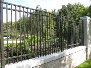 Metal moderno estilo europeo, el arte de cerco y paneles de valla de jardín