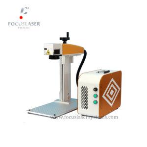 Machine van de Gravure van de Laser van de Vezel van de Juwelen van het messing de Zilveren Gouden