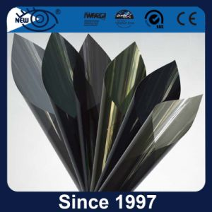 2 camadas de protecção UV Janela metálico filme tingimento