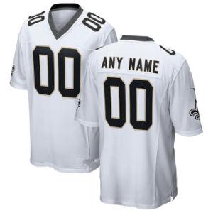 Пользовательские пользовательские святых футболках Nikeid 9 привлек Brees футбола футболках NIKEID