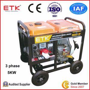 Dieselgenerator-Set mit ausgezeichneten Schalldämpfern (FX6800E)