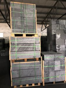 Высокая степень чистоты изостатические прессы графитовые блоки 910*310*250