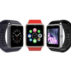 Mifree New Arrival Bluetooth Gt08 Smart Watch Wristwatch mit SIM Card Anti-Lost Camera für IOS/Android Smart Phone