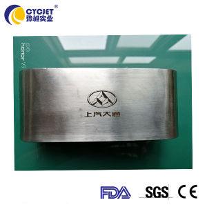 Máquina de marcado láser portátil la impresión de logotipo para metal