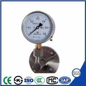 新式のダイヤフラム-シールの圧力計