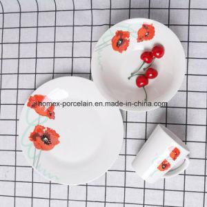 OEM défini pour la vaisselle en porcelaine populaire restaurant