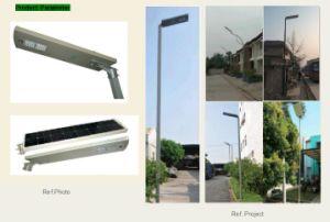 形LEDの太陽庭ライトセンサーが付いている統合された太陽街灯