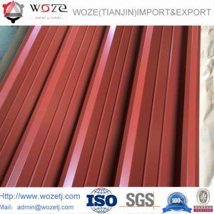Strato d'acciaio ondulato del tetto di colore di Pressd