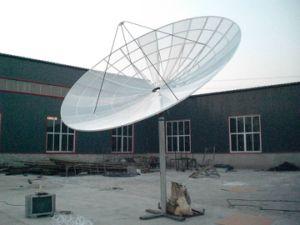 Alumínio 5m Banda C Antena Parabólica Antena de malha