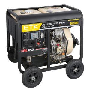 6kw 공기에 의하여 냉각되는 디젤 엔진 발전기
