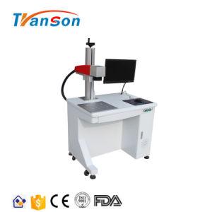 Transon heiße faser-Laser-Markierungs-Maschine des Verkaufs-30W Tischplatten