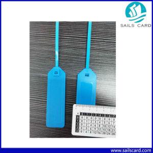 Lf/Hf/UHF Chips를 가진 플라스틱 Strap RFID Sealing Tag