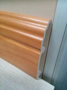 Ck PVC mousse de 10cm de hauteur des plinthes Clips Installtion