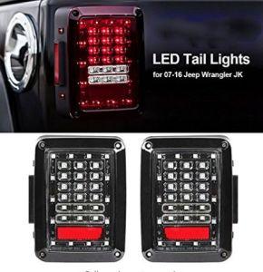 12V Repuestos Jeep Wrangler luces traseras LED