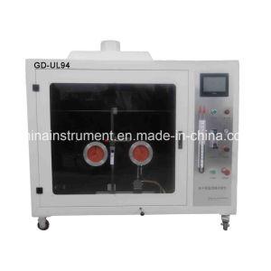 ISO 1210 UL 94 Testador de combustão vertical Horizontal / Câmara de combustão
