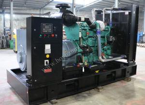Двигатель с водяным охлаждением Cummins открытого типа/Silent тип электростанции 300квт/375ква