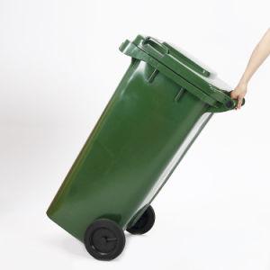 Comercio al por mayor de plástico de HDPE 120litros Papelera de reciclaje de basura/ bin / / Papelera cubo de basura