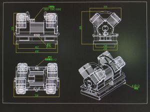 Barramento de Energia Nova Porta Aberta Funcation Óleo de Alta Pressão do Compressor de Ar Livre