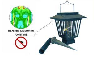 Assassino solare della zanzara elettronico con la batteria UV LED e Ni-MH