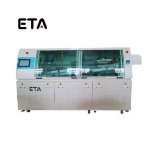 Onda automática máquina de solda para queda automática da linha de inserção