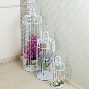 Decoração de casamento Bird Cage artesanato de metal