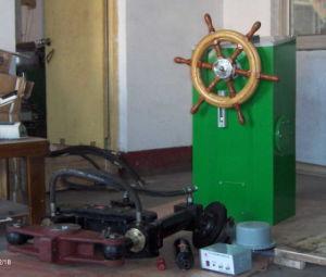 Meccanismo di comando dello sterzo idraulico di Haisun (HS-P800, 1000, 1200, 1600)