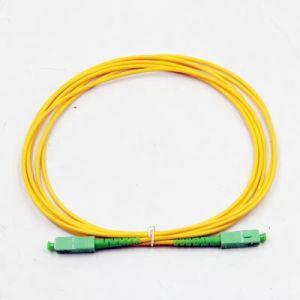 Sc simplex/APC Sc/APC SM G652D 2,0 mm de fibra óptica de 3 metros de latiguillo
