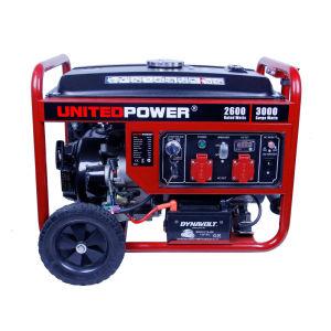 3kw United Power & 50Hz/generador de gasolina de 3kVA.
