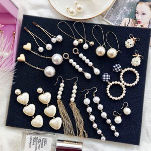 Personalidade jurídica simples Pearl jóias brincos longos