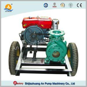 Conjunto pequeno de gasóleo agrícola a irrigação do motor bomba de água centrífuga