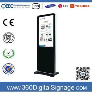 47 affissione a cristalli liquidi Advertizing Player Digital Signage di pollice HD Floor Standing con Network 3G/WiFi per Chain Shops