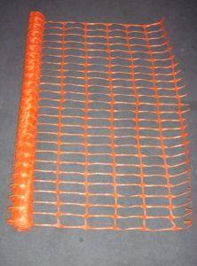 Rete fissa di plastica arancione con la consegna di Shoet