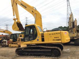 Utilisé de bonnes performances PC Crawler220-6 Komatsu excavateur hydraulique pour la vente