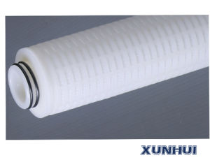Cartouche de filtre à membrane de fluorure de polyvinylidène Lpv