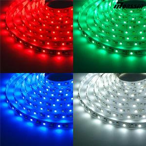 Iluminação endereçável do Pub da tira do diodo emissor de luz de SMD 5050 flexíveis RGB