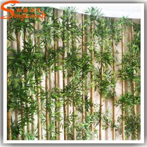 Decorações de paisagismo Árvore de bambu da sorte Artificial